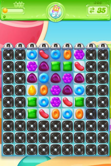Candy Crush Jelly Saga 206