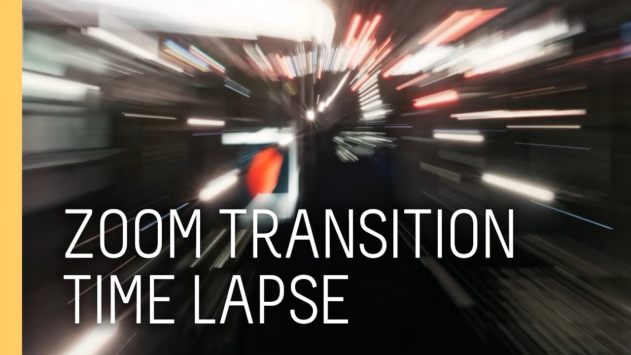 How to create a zoom timelapse transition in after effects like Sam Kolder
