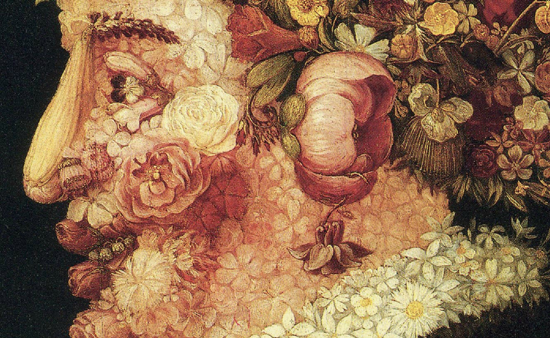 Giuseppe arcimboldo allegories of the seasons 1573 - Printemps arcimboldo ...