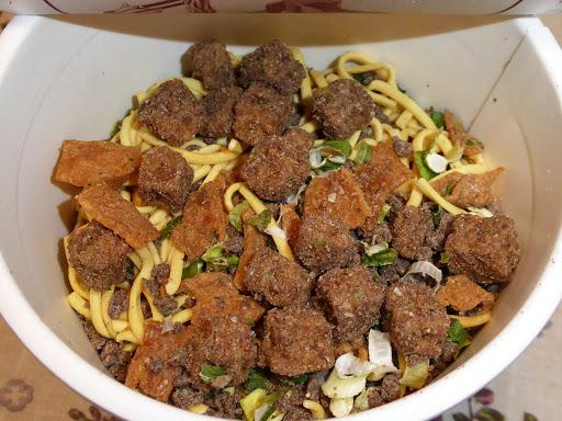 【NISSIN(日清食品)】AKIBAヌードル 肉汁麺ススム監修 肉汁麺
