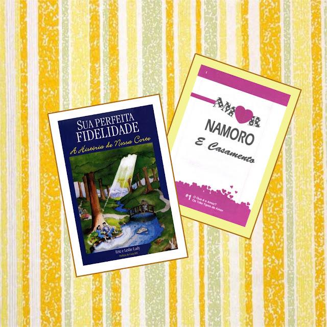 Livro 'Sua perfeita fidelidade: a história da nossa corte' e Revista 'Amor, Namoro e Casamento'