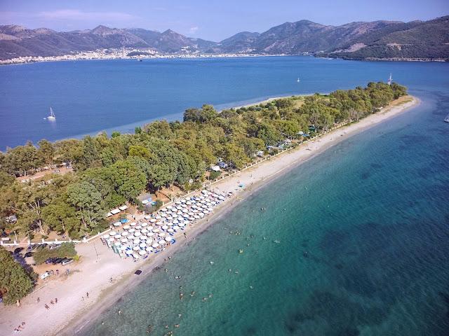 Ηγουμενίτσα: Μαθήματα αγωνιστικής κολύμβησης στην παραλία του δρεπάνου