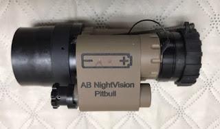 AB Night Vision Pitbull Monocular