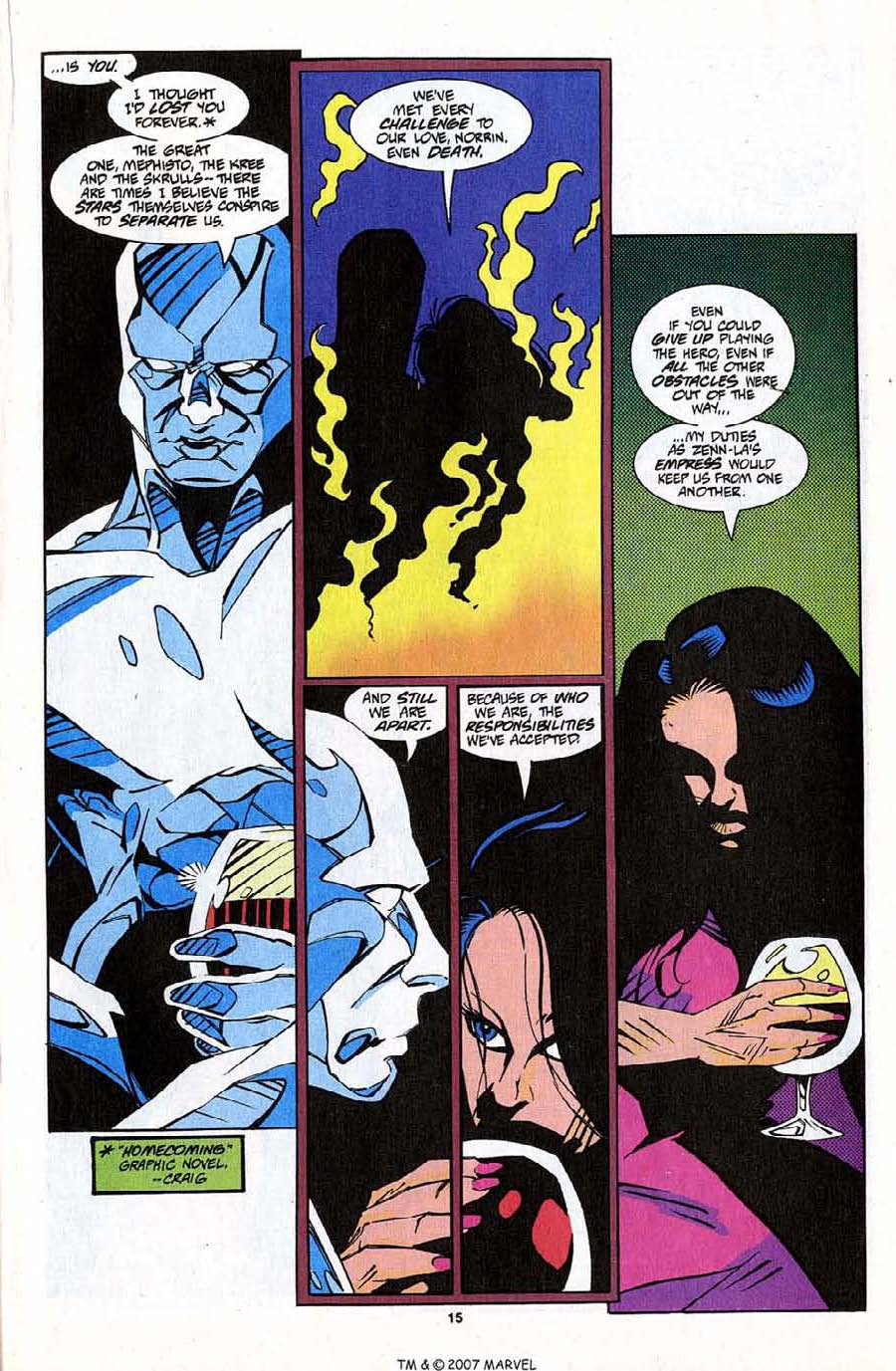 Read online Silver Surfer (1987) comic -  Issue #83 - 17