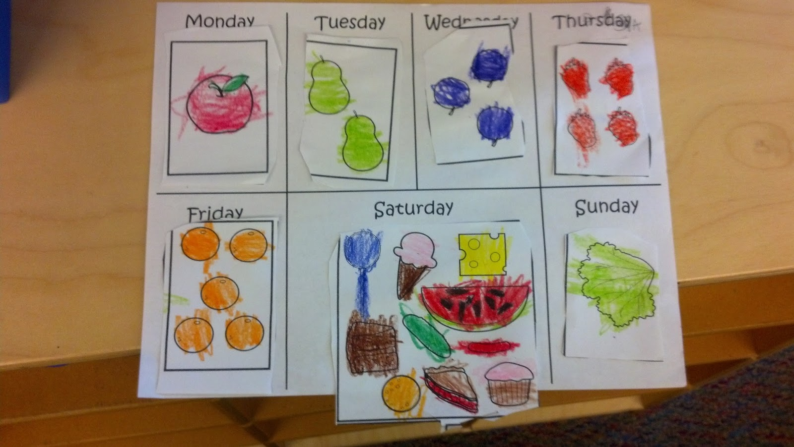 Miss Jones Kindergarten Class Caterpillars And Apples