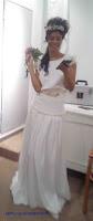 Vestido novia moderna; diseño a medida