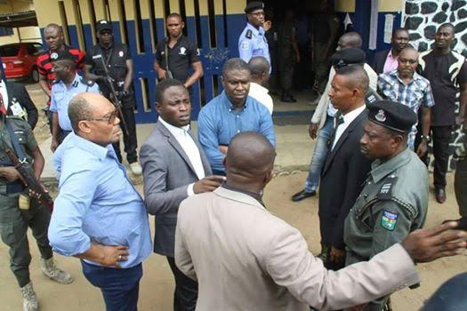 River state govt deny Wike's COS was captured for assault on Dakuku, discharge pics and proclamation
