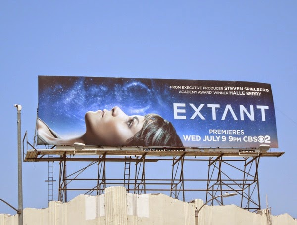 Halle Berry Extant series premiere billboard