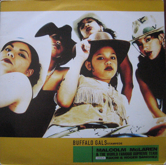 "Malcolm McLaren & The World Famous Supreme Team ‎– Buffalo Gals Stampede -Vinyl 12"" (1998)"