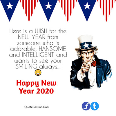 Happy New Year Message 2020