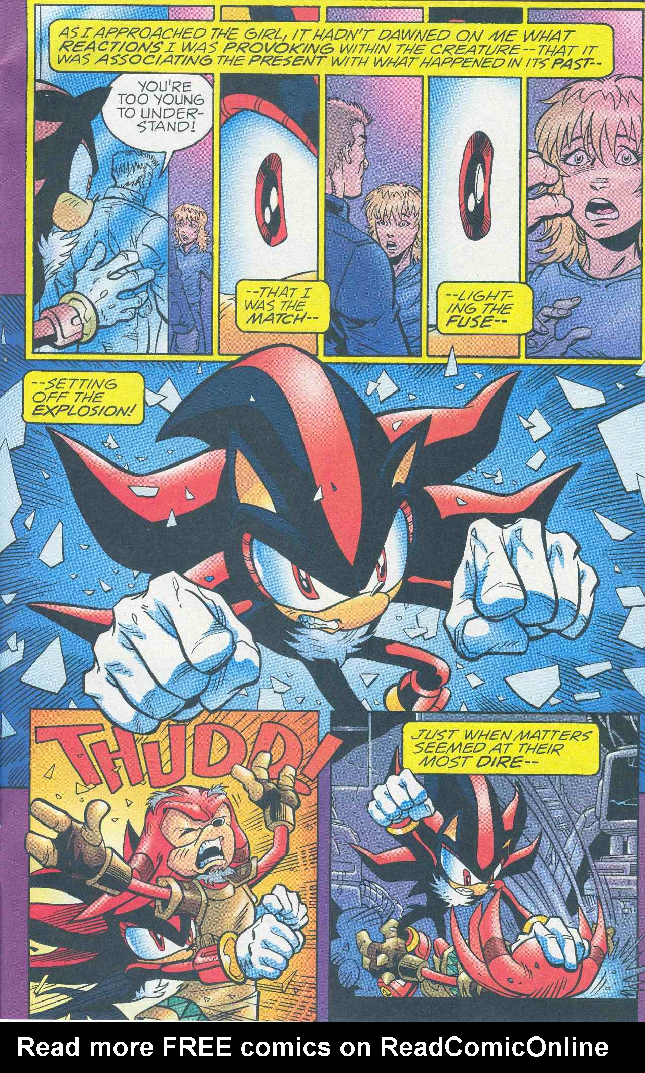Read online Sonic The Hedgehog comic -  Issue #145 - 9