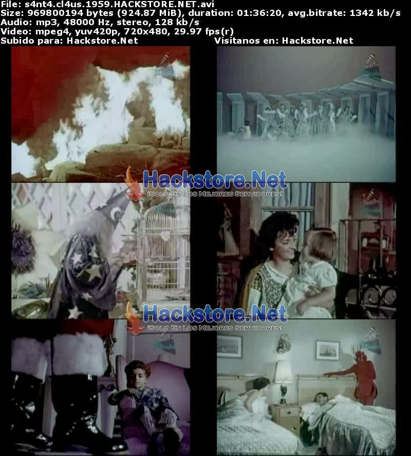 Captura Santa Claus (1959) DVDRip Latino