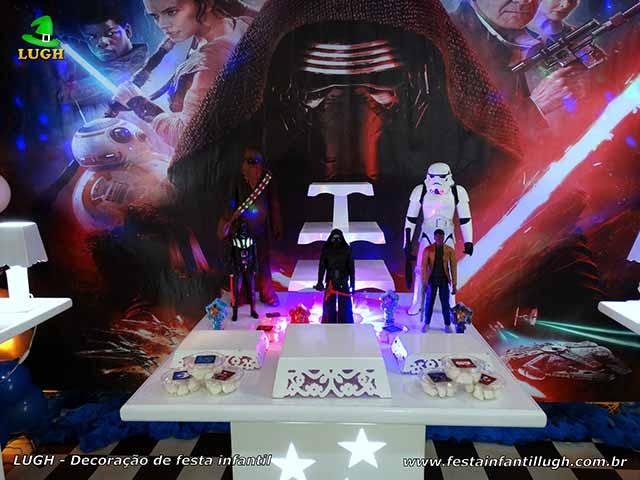 Mesa temática Star Wars - Aniversário infantil