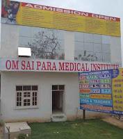 About OSPMI | Om Sai Para Medical Institute