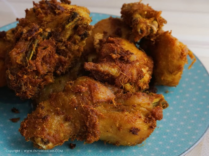 Ayam Goreng Lengkuas Rangup!