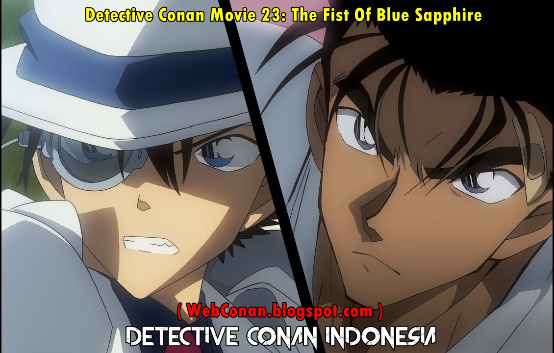 Detective Conan Movie 23 The Fist Of Blue Sapphire