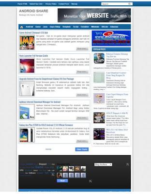 Dijual Blog Game Android Murah !!! Bukan Blog DOWNLOAD !!!