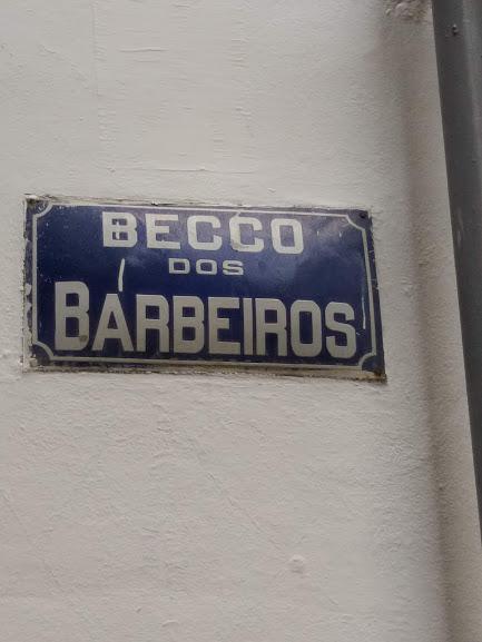 Beco dos Barbeiros