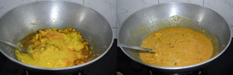 how to make yam kootu