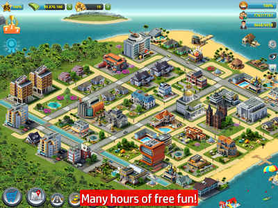Free Download City Island 3 - Building Sim v1.3.4 MOD APK (Unlimted Money) Terbaru