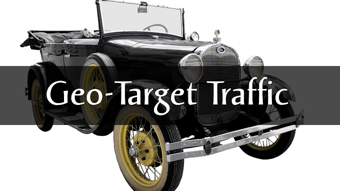 Increase Geo Target Traffic on your Website
