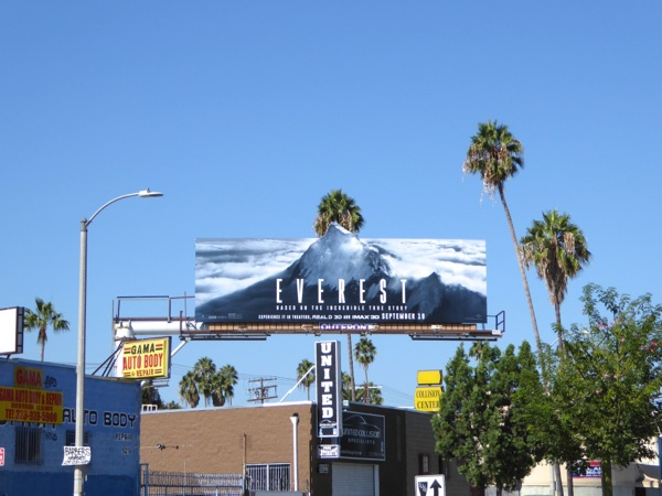 Everest film billboard