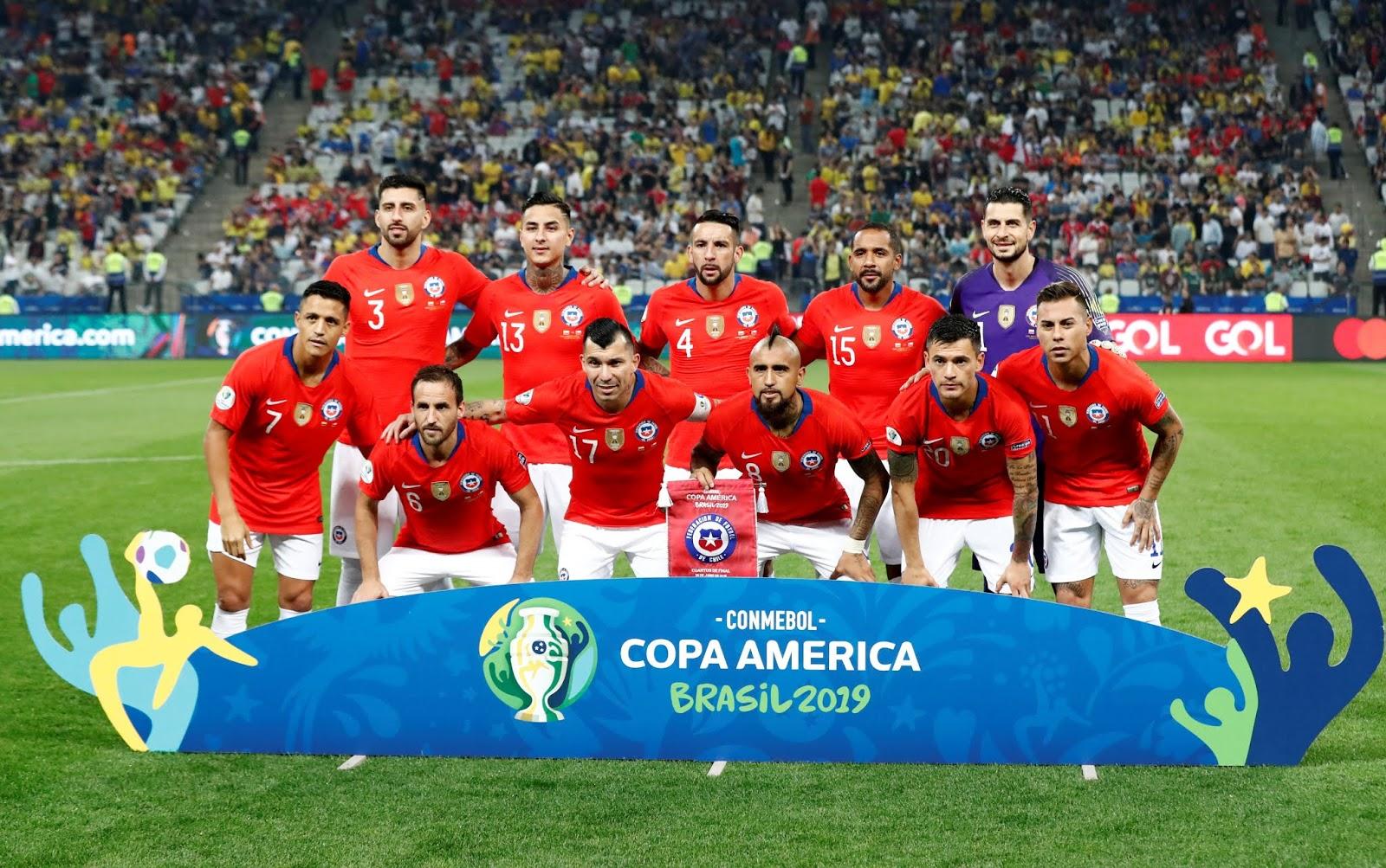 Formación de Chile ante Colombia, Copa América 2019, 28 de junio