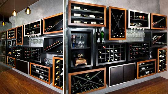 Blog de mbar muebles los muebles botelleros una bodega Botelleros de pared