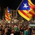 Σχεδόν μισό εκατομμύριο Καταλανοί διαδήλωσαν υπέρ της ανεξαρτησίας (video+photos)