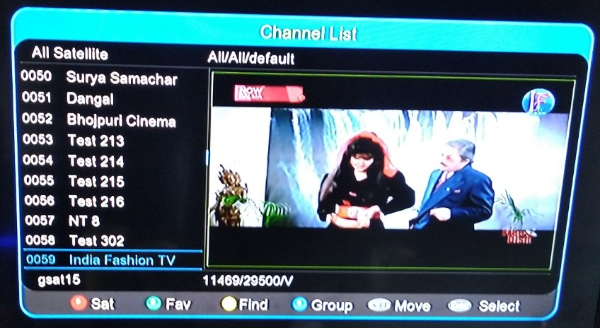India Fashion TV added on DD Free Dish DTH at Channel No 35