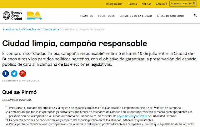 La Ciudad lanzó una web que informa el vandalismo en el espacio público durante la campaña electoral