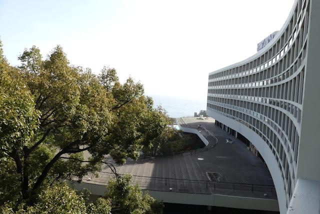 Pestana Casino Park Hotel, Madeira - Blick vom Balkon Richtung Meer