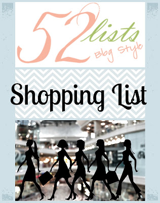 52 Lists #37 - Shopping List on Homeschool Coffee Break @ kympossibleblog.blogspot.com - some places I actually LIKE to shop!