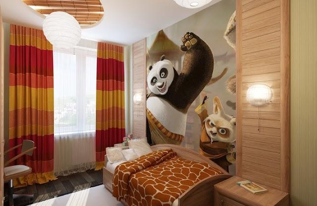 phòng ngủ bé trai - mẫu 3