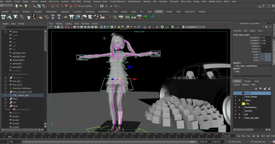Top 5 3d Professional Animation Software For Windows Mac