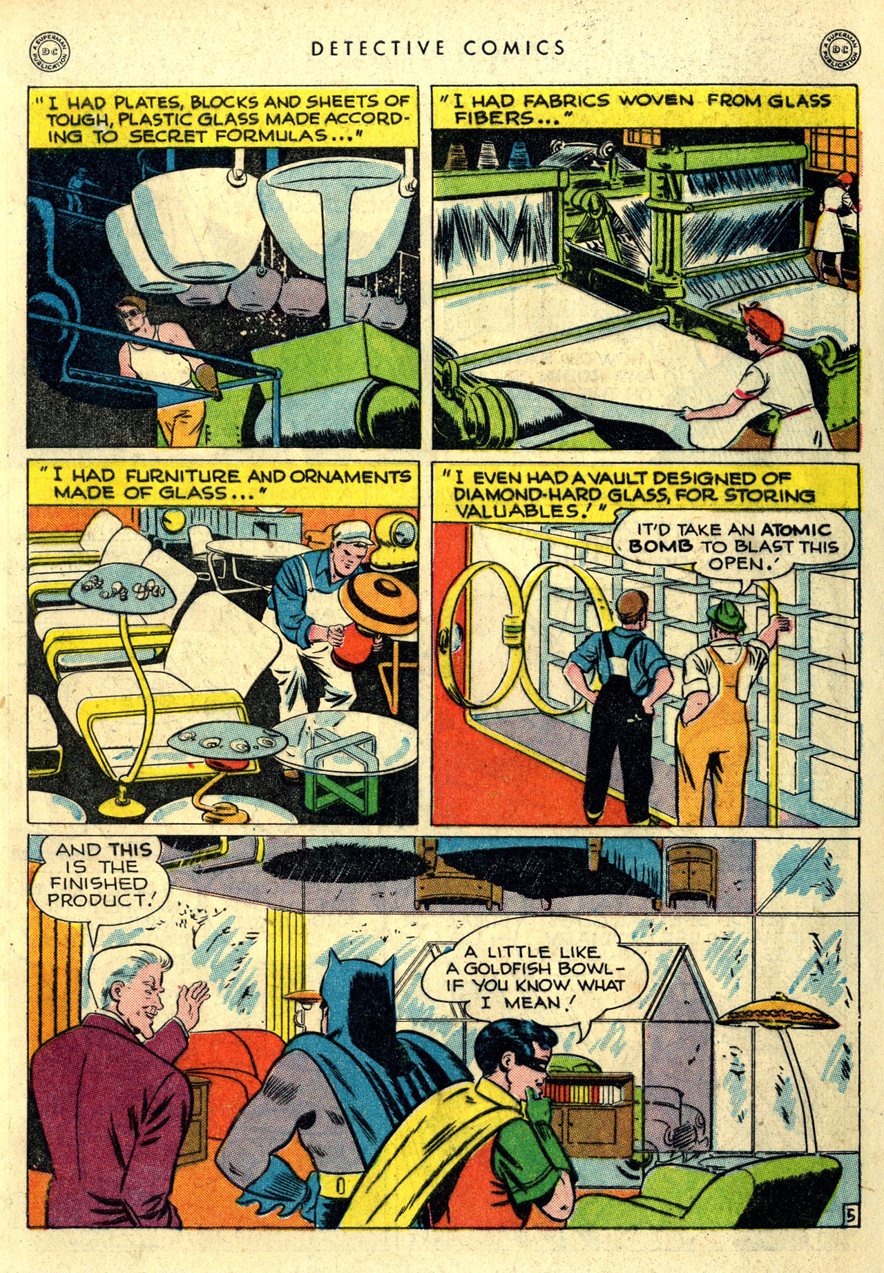 Read online Detective Comics (1937) comic -  Issue #115 - 7