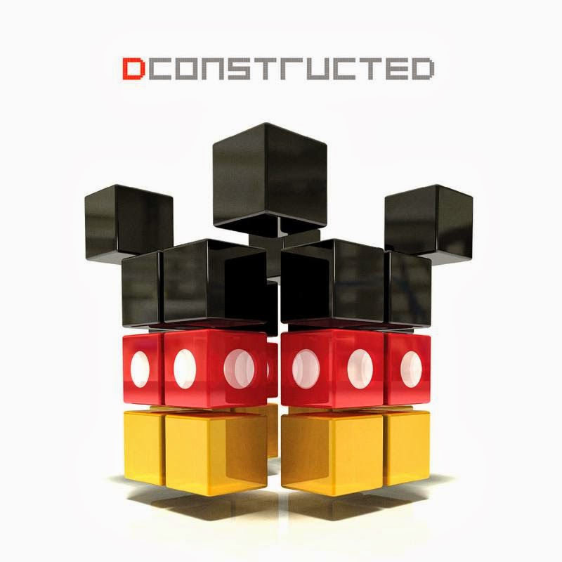 dconstructed, audiofuzz, electronic, djs, disney