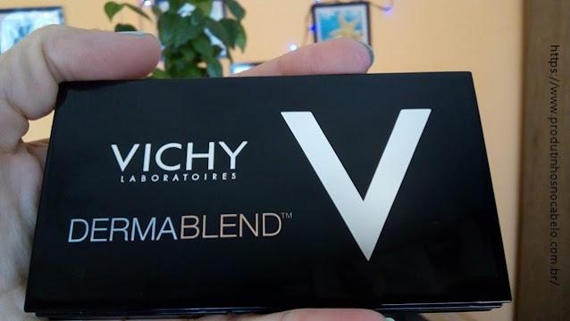 estojo Base Compacta Vichy Dermablend