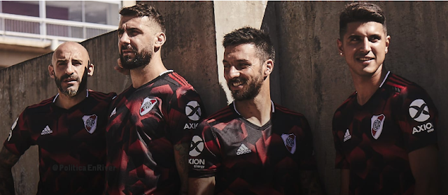 Camiseta, Suplente, River Plate, River, Negra, 2019, Campeón de América,