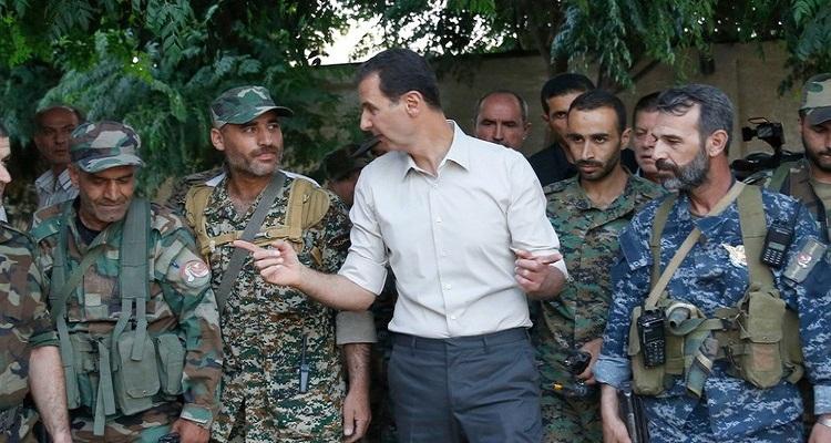 رئاسة الجمهورية تنشر صورة نادرة لبشار الأسد في بداية مسيرته العسكرية