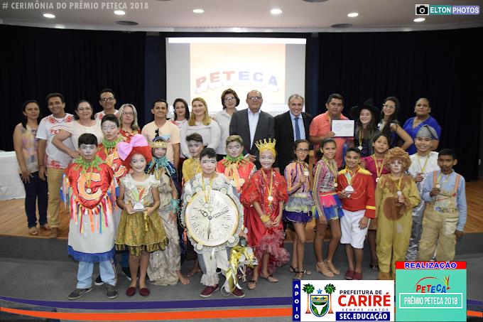 Escola Evangelina Feijão de Boa Esperança é premiada em 2º lugar na Esquete Teatral da Etapa Estadual do Prêmio Peteca