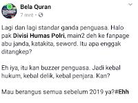 Muslim Cyber Army Kembali Ditangkap, Ini Komentar Akun Bela Quran