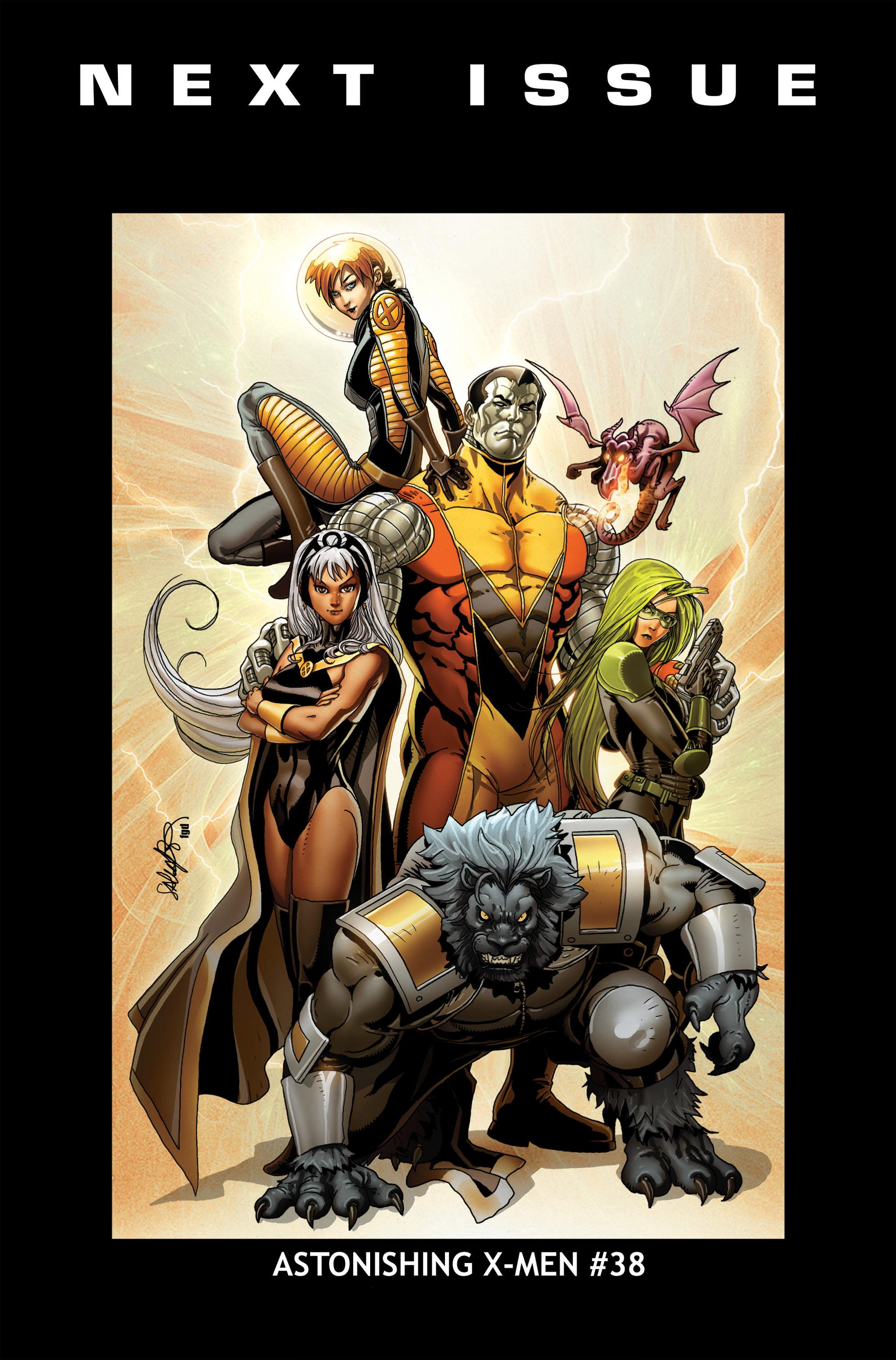 Read online Astonishing X-Men (2004) comic -  Issue #37 - 25