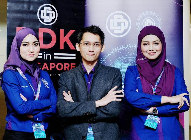 DDK KEMBANGKAN SAYAP MENYEBERANGI  SINGAPURA