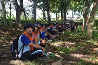 ounbond kegiatan pra kuliah PSPP Yogyakarta nunggu giliran