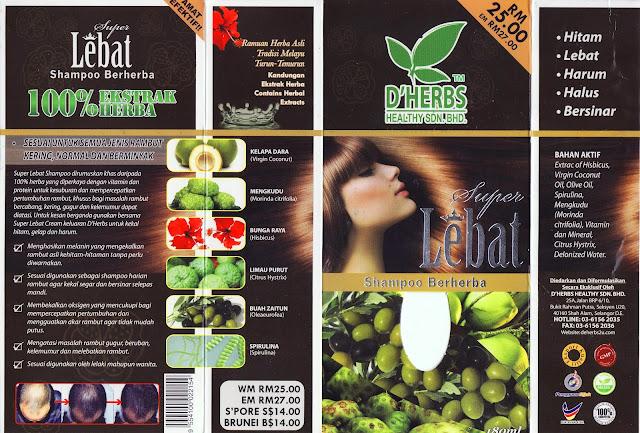 Super Lebat Shampoo Berherba D'Herbs