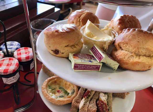 Afternoon tea Patisserie Valerie Durham Middlesbrough Review