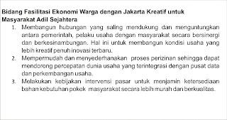 Fasilitasi Ekonomi Warga dengan Jakarta Kreatif untuk Jakarta MAS