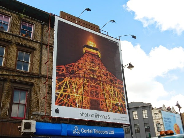 Shot on iPhone 6 Satoshi H billboard London
