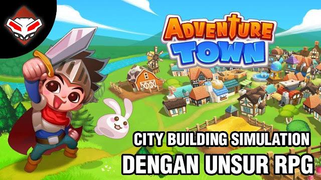 تحميل لعبة المغامرات Adventure Town للاندرويد برابط مباشر سريع مجاني